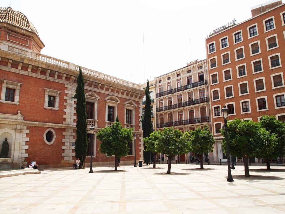 Little square in Valencia