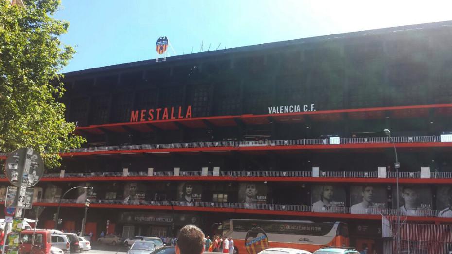 Mestalla stadium Valencia