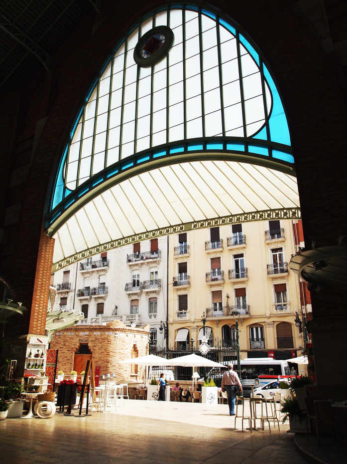Market hall in Valencia