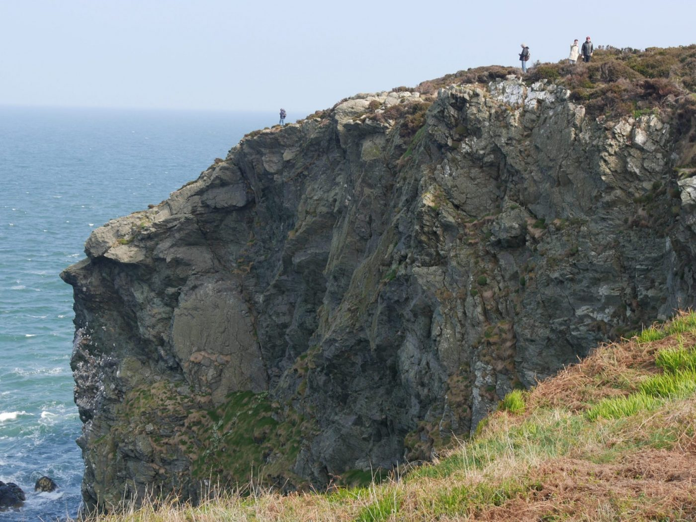 High cliff - Howth, Ireland