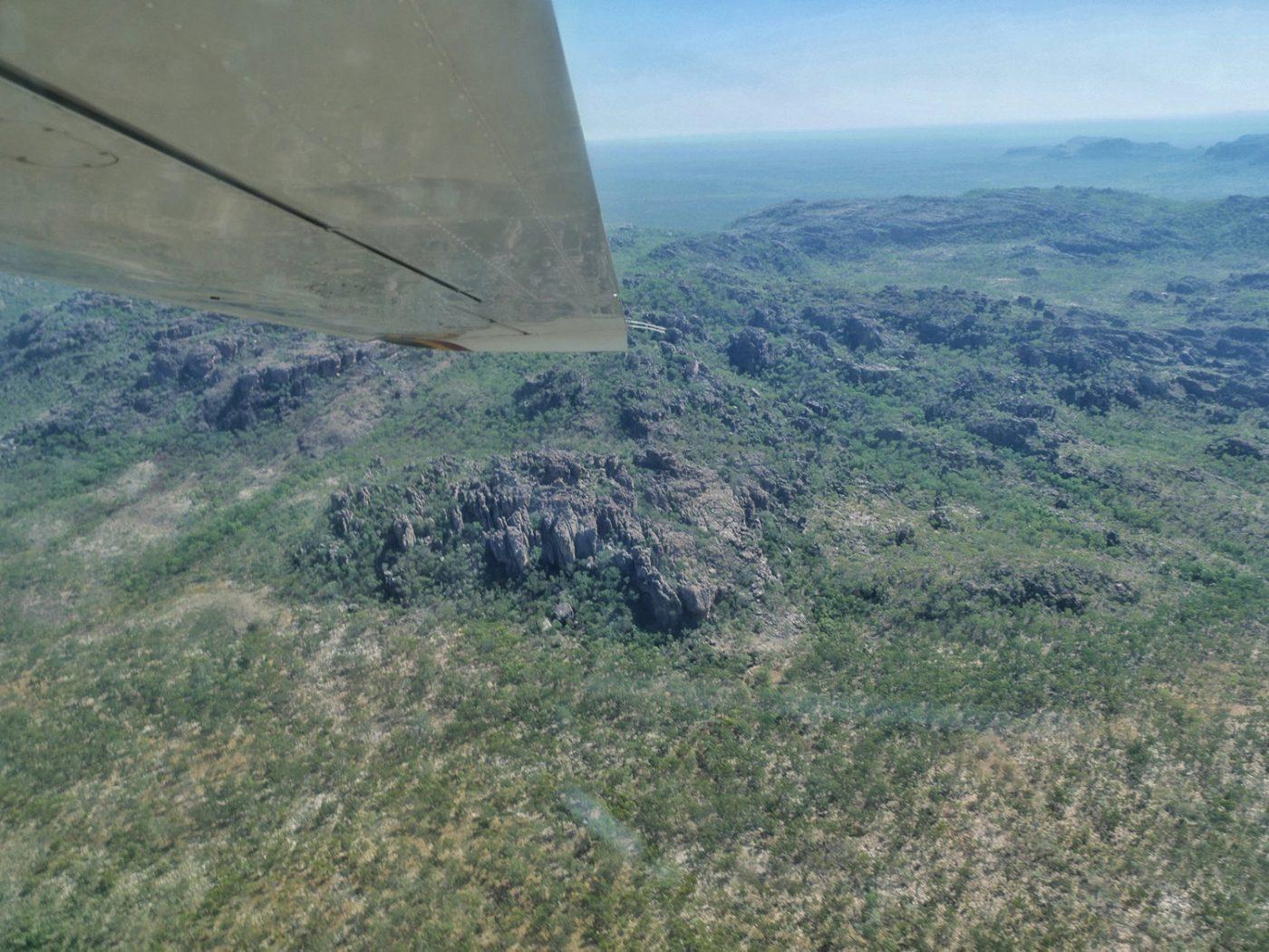 Above the hills of Kakadu National Park  - Kakadu National Park