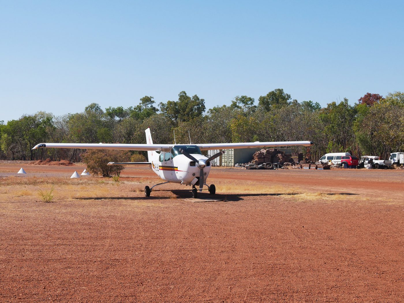 Our airplane - Kakadu Air
