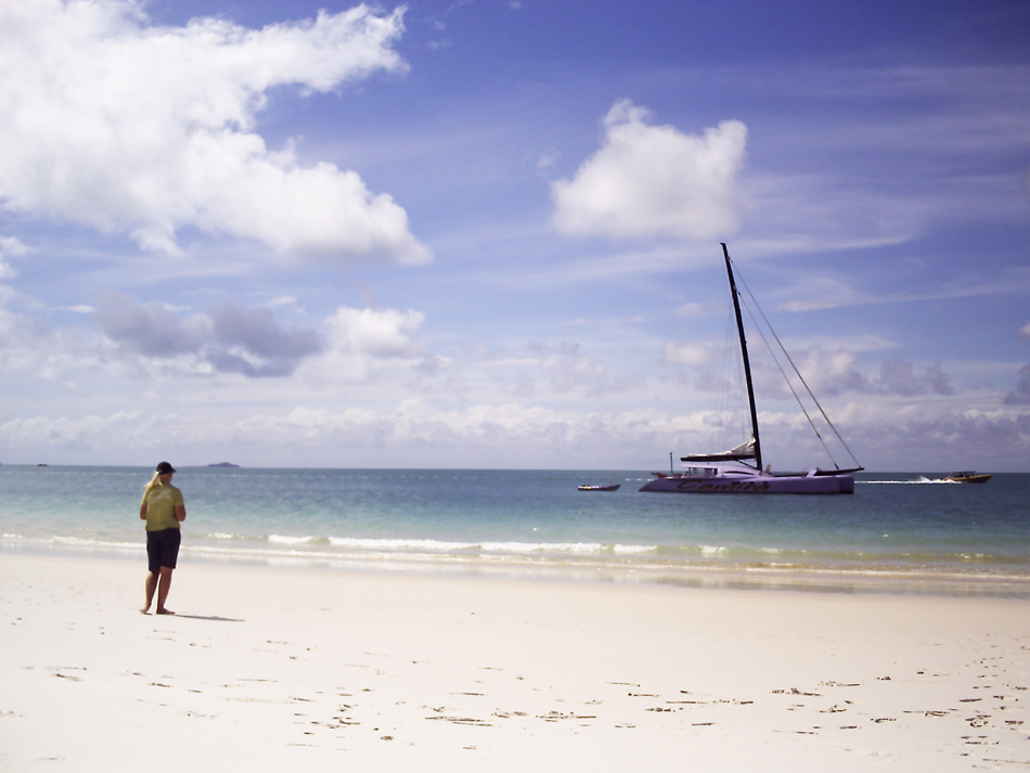 Sailing at the Whitsunday Islands