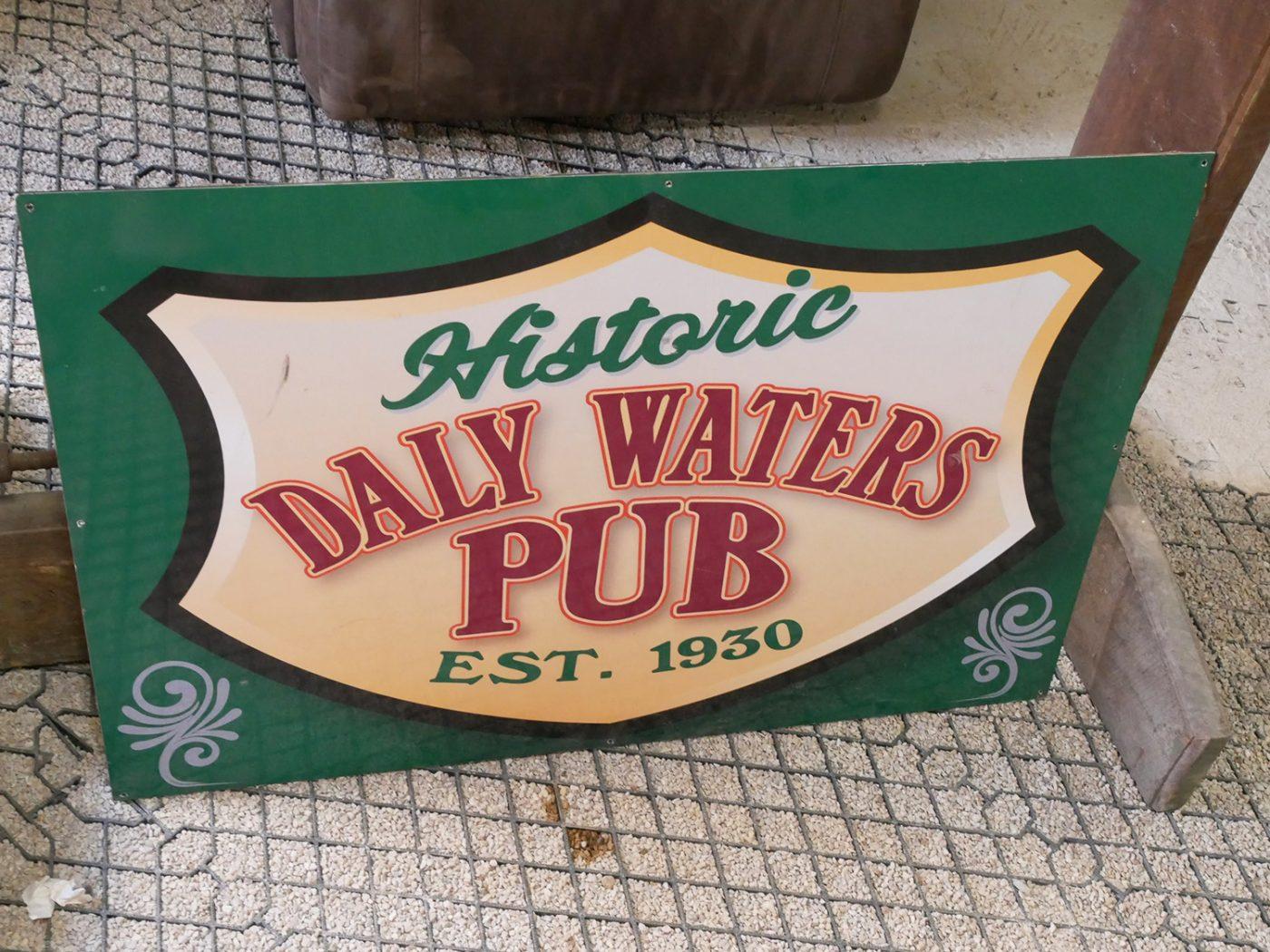 The historic Daly Water Pub in Australia