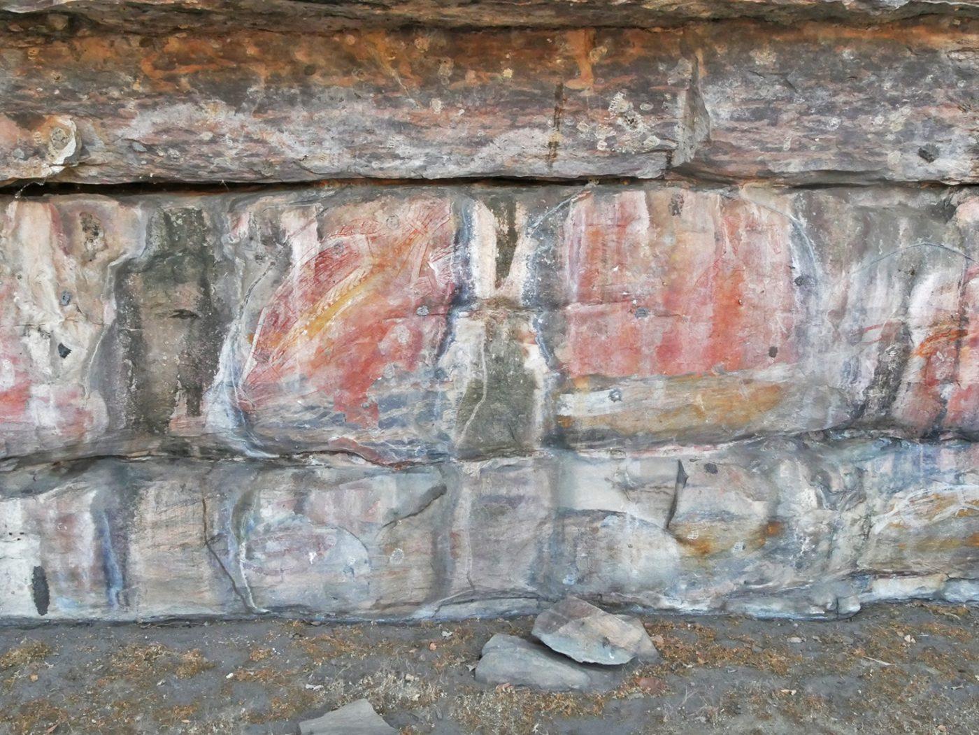 Rock art at Ubirr Rock
