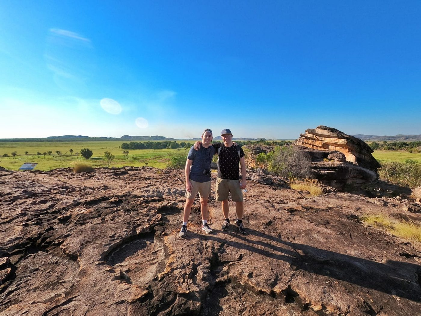 Amazing 360 view from the Ubirr Rock