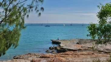 Darwin - the most beautiful places along the coast of Darwin