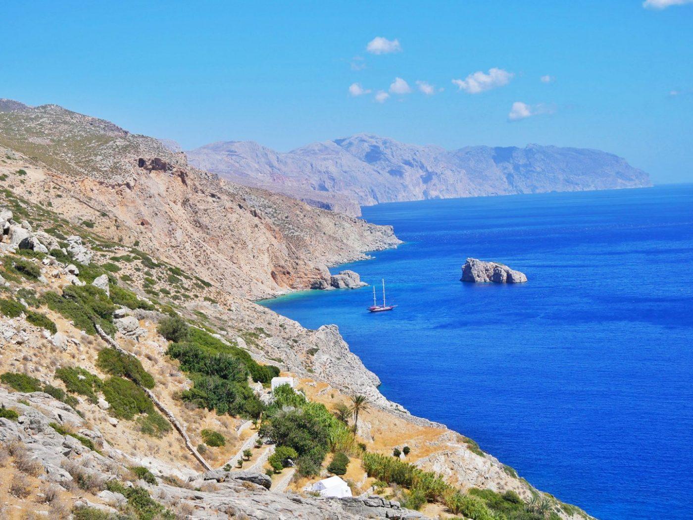 Greek Island Amorgos - where to travel in 2021