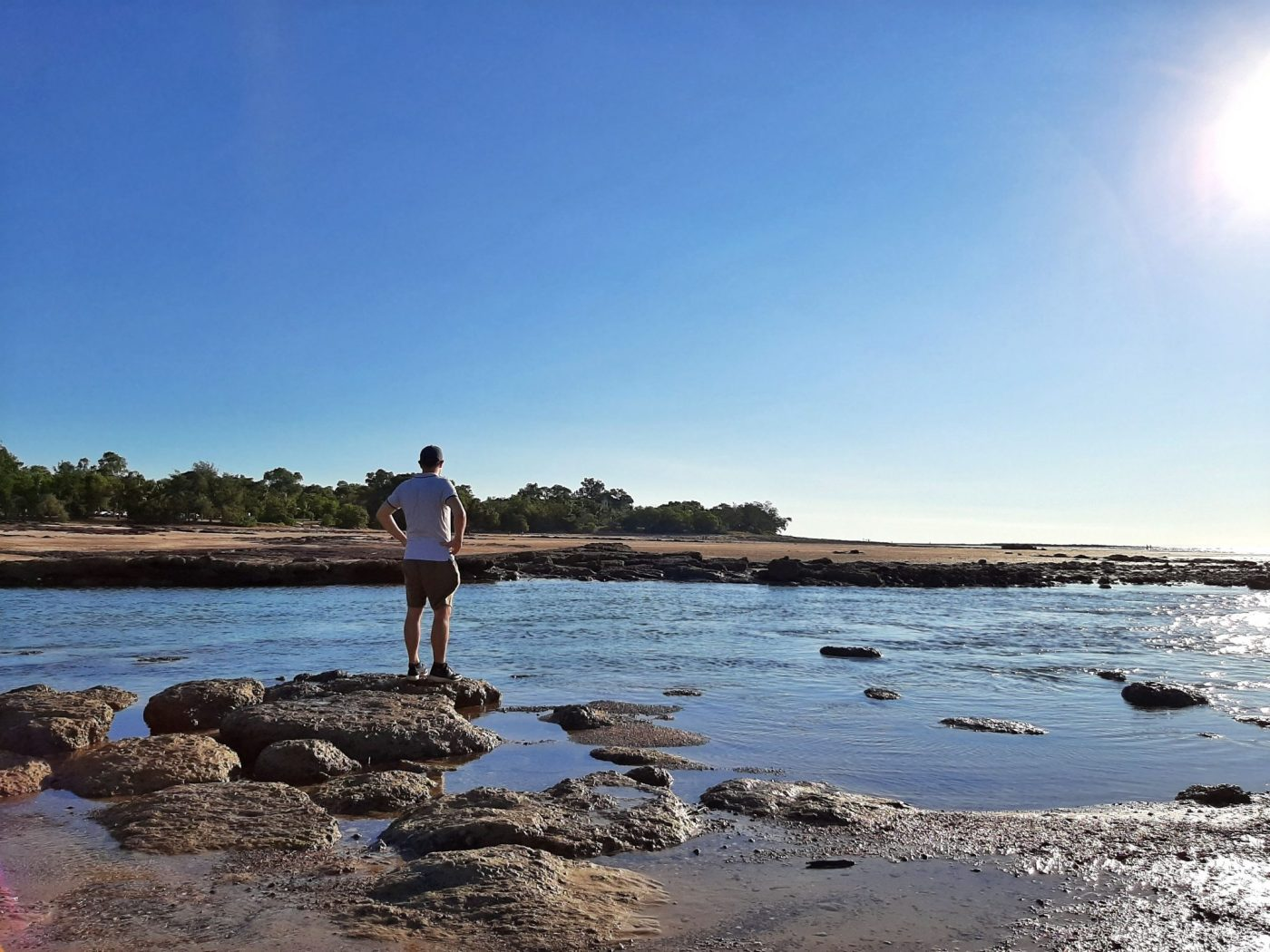 Enjoying the view and landscape - Darwin