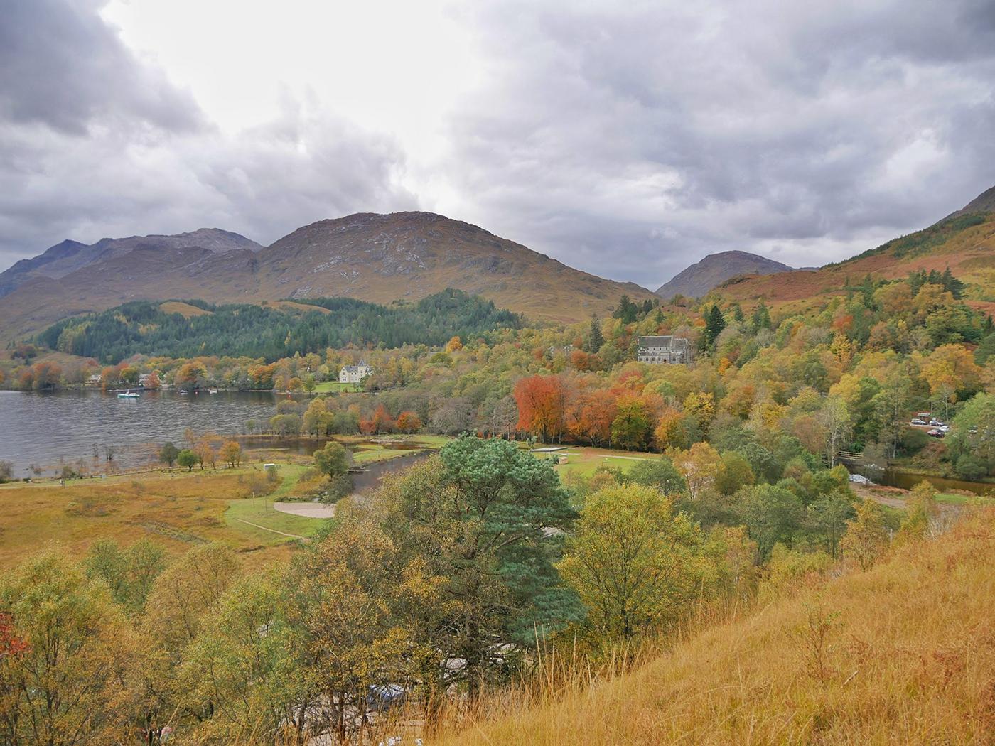 Autumn in Scotland - Road trip Scotland