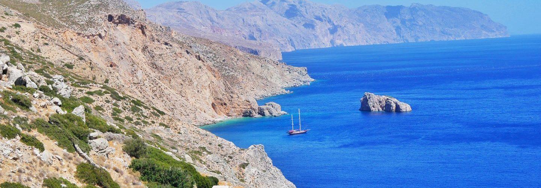 Greek Island Amorgos