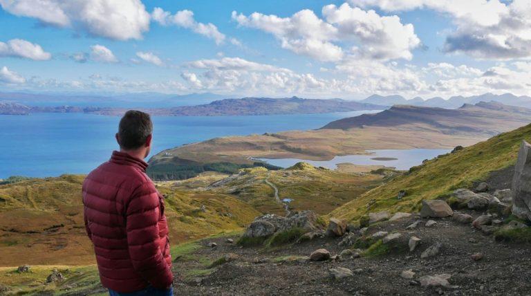 Travel video - road trip Scotland