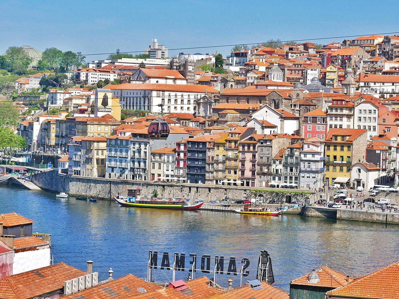 Harbour of Porto