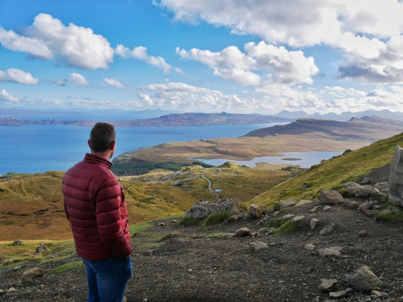 On the top of The Storr - Isle of Skye