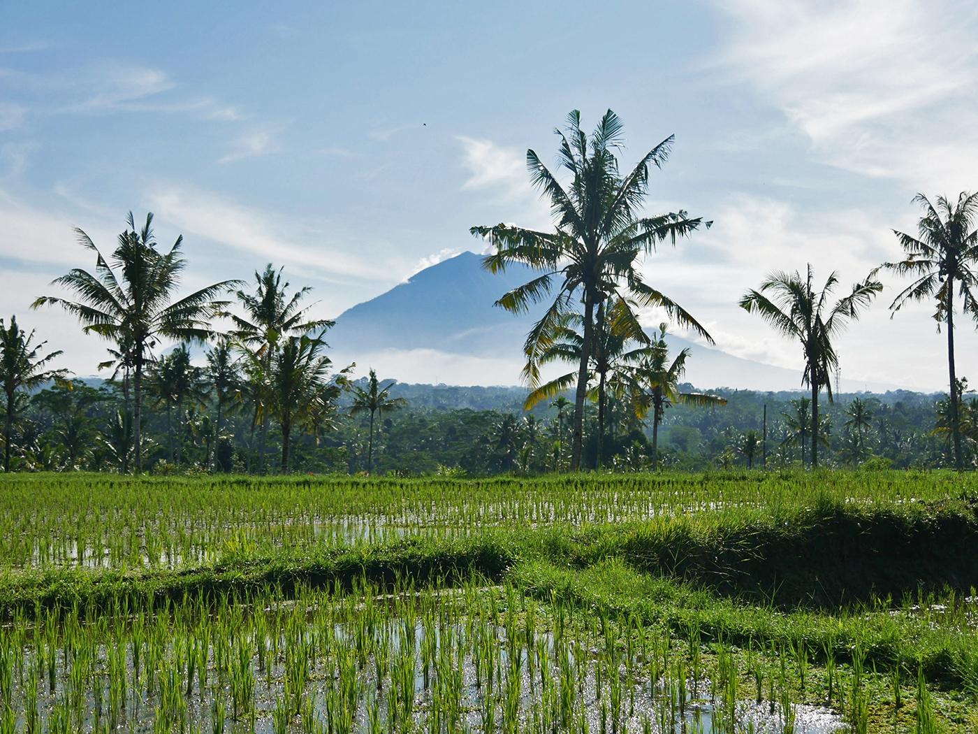 Agung vulcano Bali - where to travel in 2021