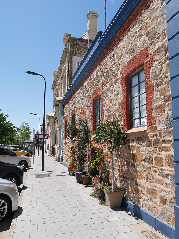 Beautiful old buildings at Port Adelaide