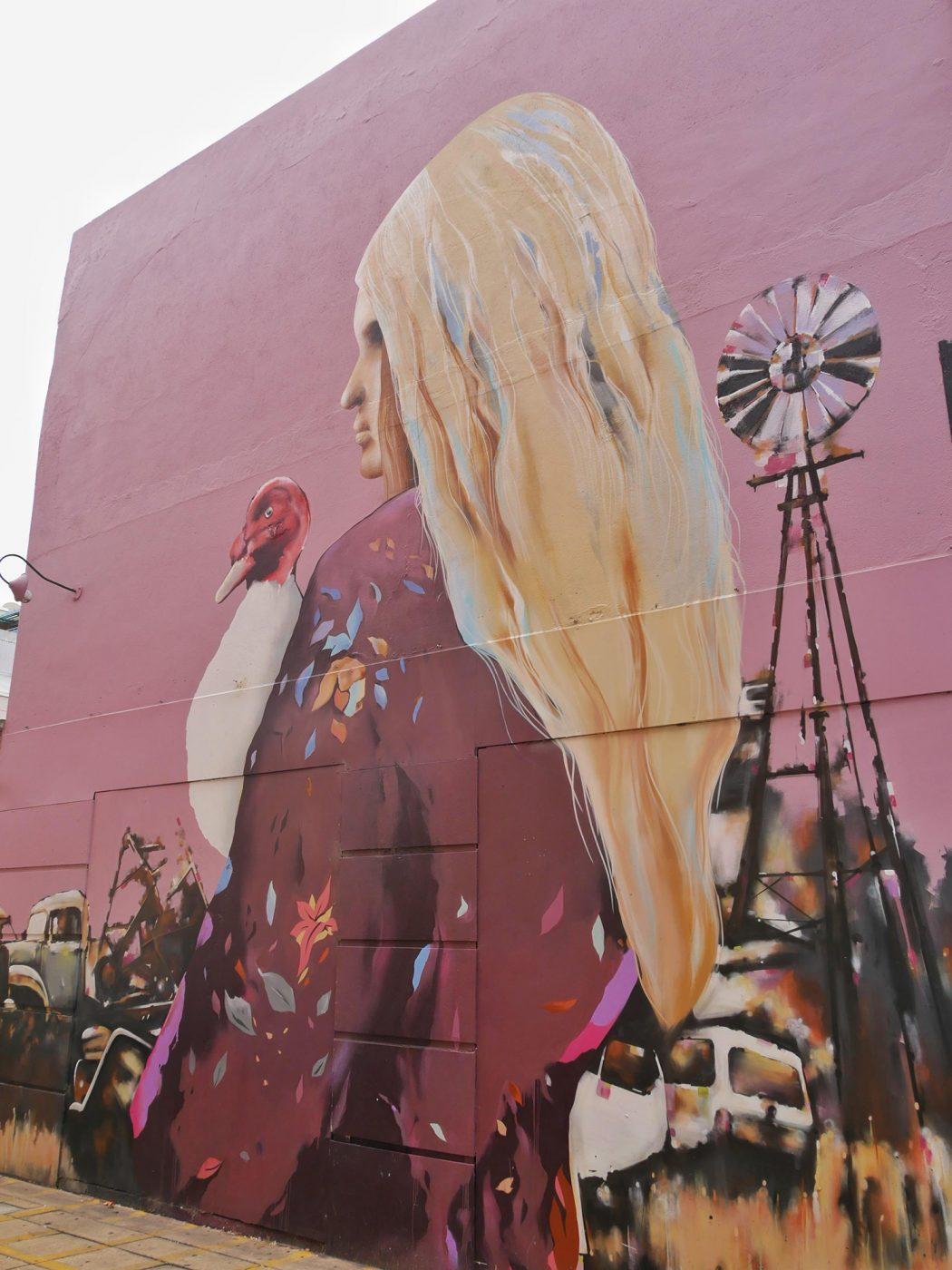 Street art in Adelaide