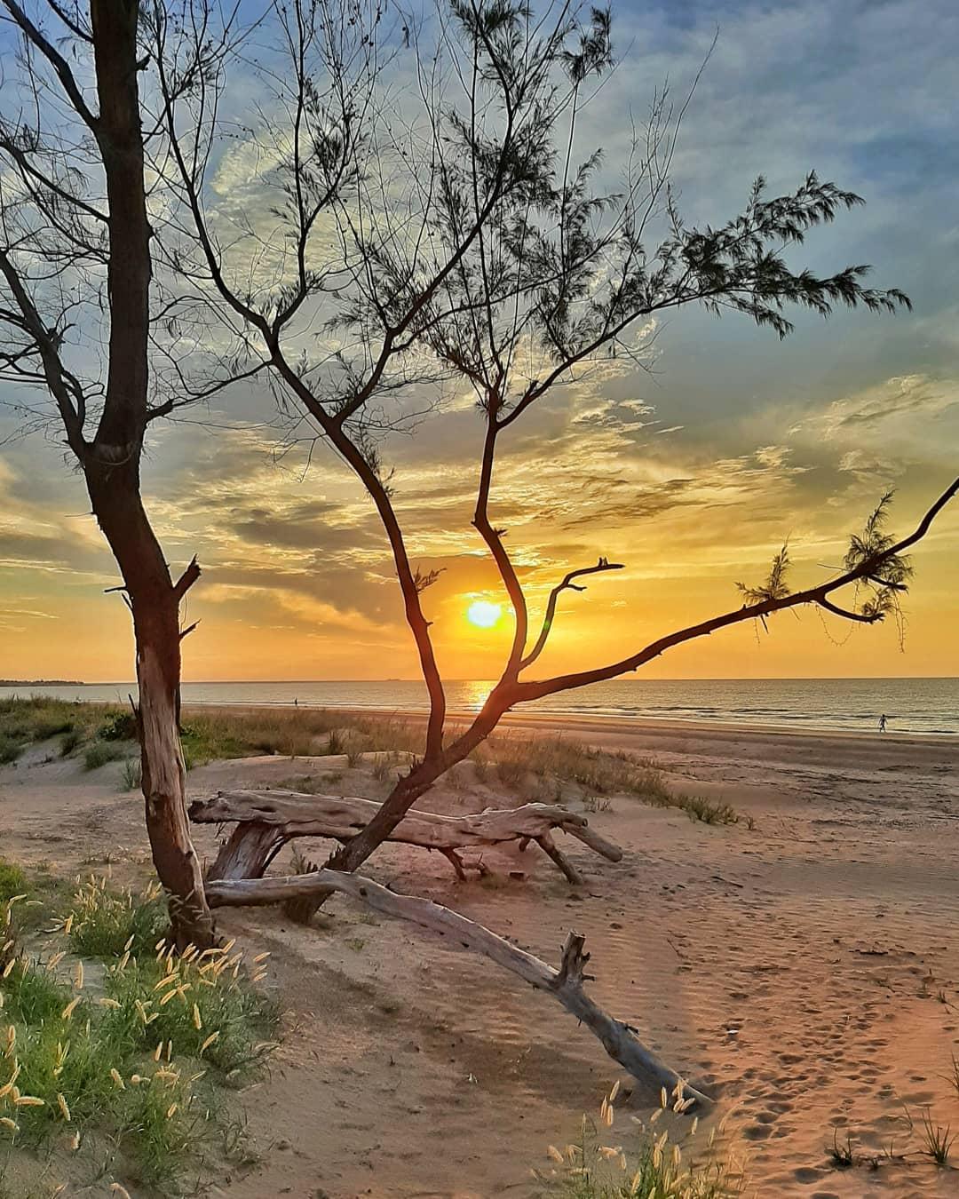 Beautiful sunset in Darwin