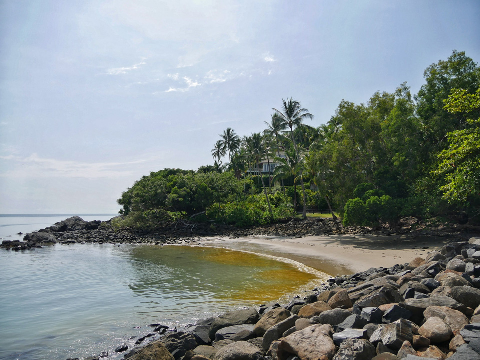 Beach at the end of the Flagstaff Hill Walking Trail -  Port Douglas