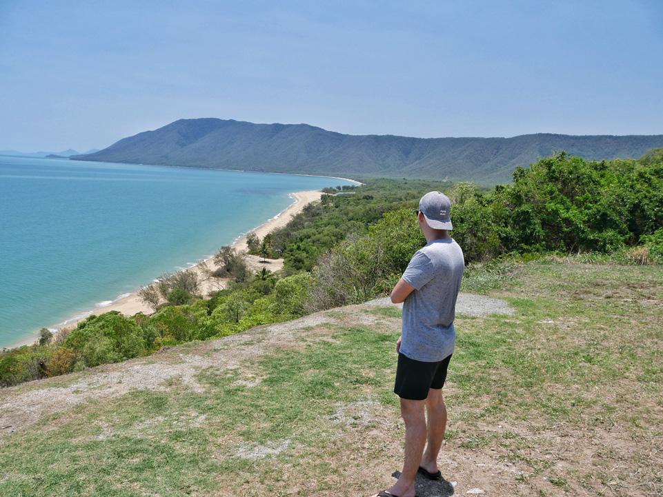 Beautiful coast line in Tropical North Queensland