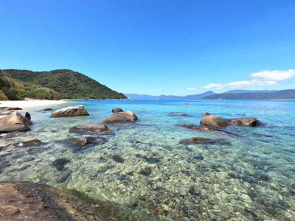 Rocks and azure water - Fitzroy Island