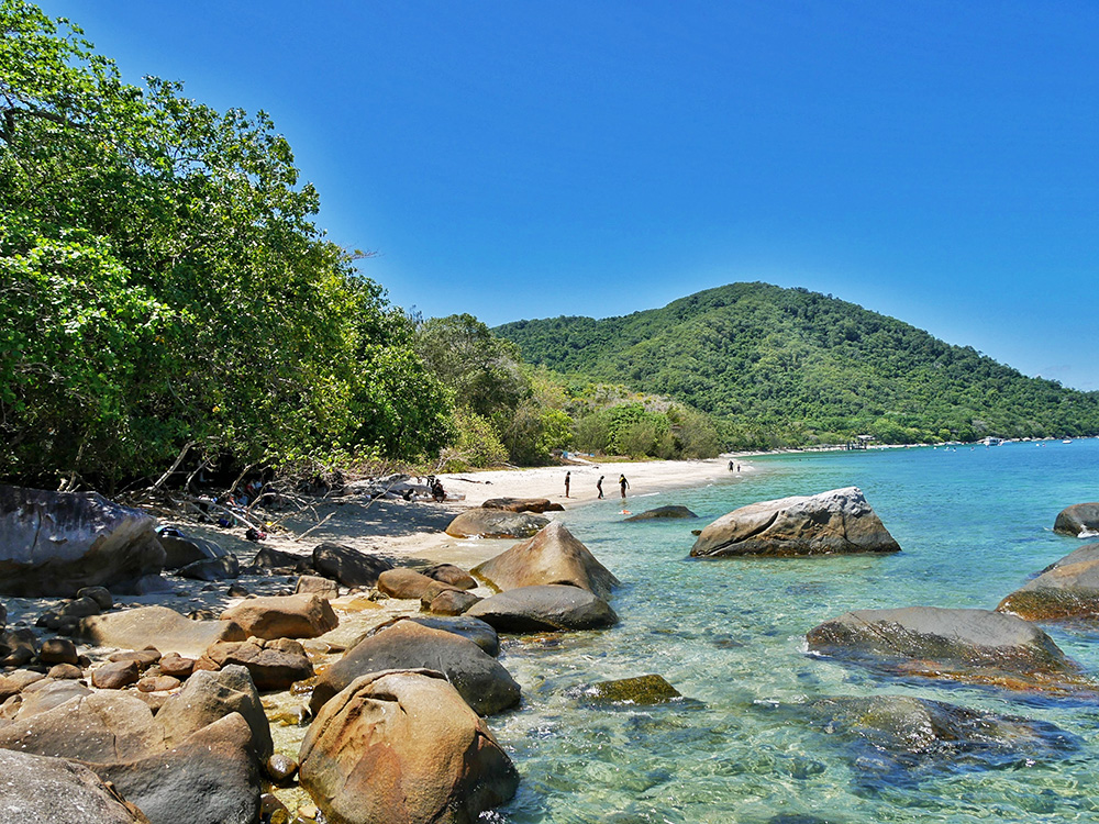 Perhaps the most photogenic spot on Fitzroy Island