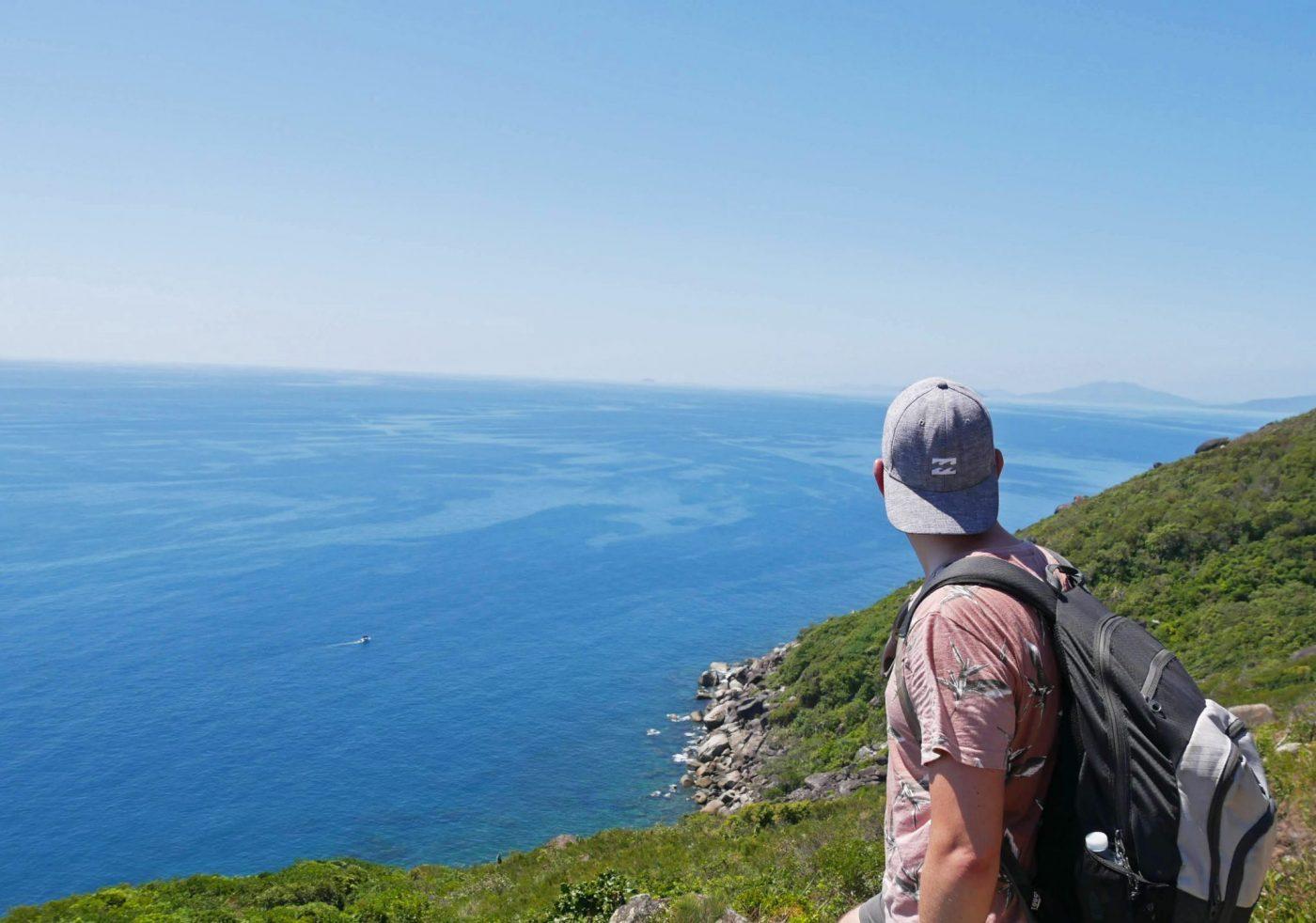 Phenomenal view after a tough climb