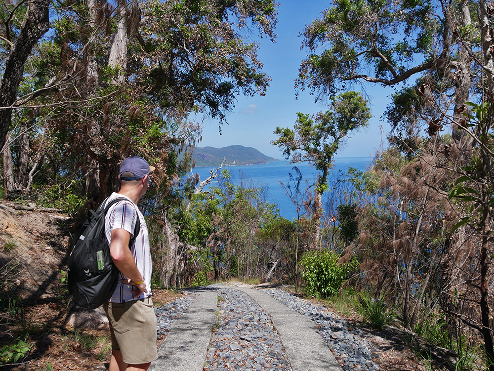 Hiking at Fitzroy Island