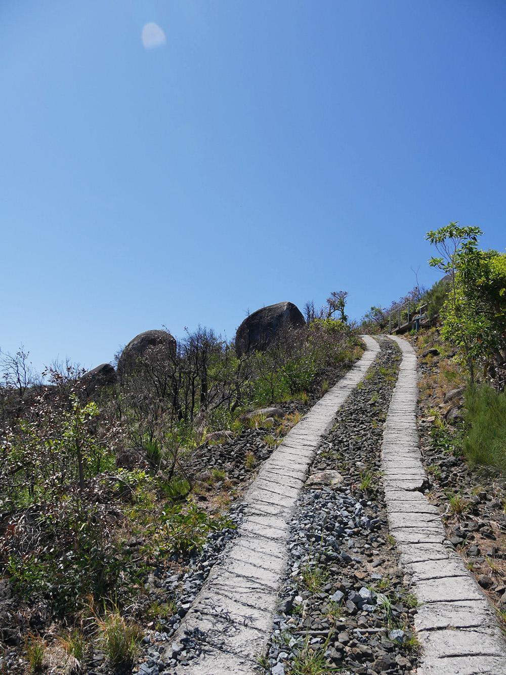 A hike with a big challenge