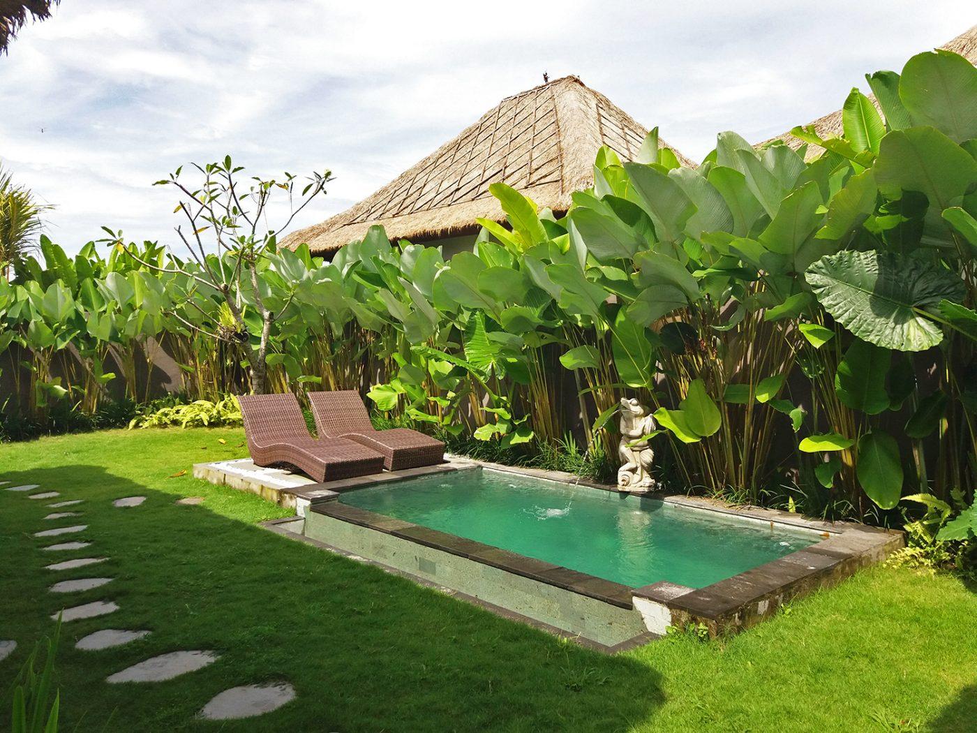 Private swimming pool - Three Gold Luxury Private Villas