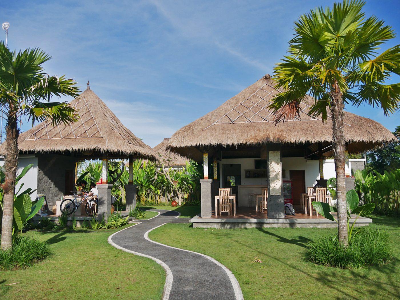 Entree & restaurant Three Gold Luxury Private Villas