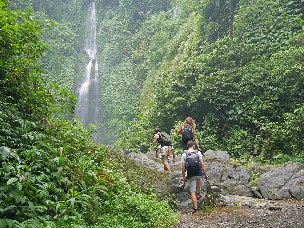 Sekumpul Waterfall hike