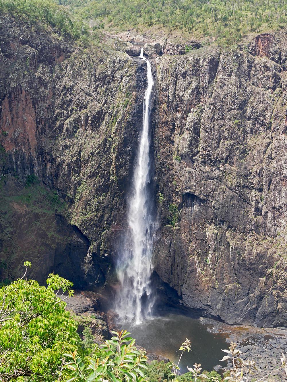 Close up from the Wallaman Falls